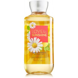 Гель для душа Bath and Body Works «Love & Sunshine»