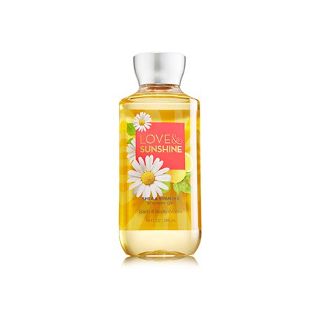 Гель для душа Bath and Body Works с ароматом цветения груши, сладкого лимона, дыни и ромашки