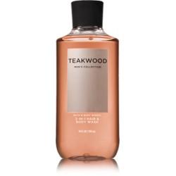 Шампунь для волос и гель для душа 2 в 1 / мужская серия Bath and Body Works «Teakwood»