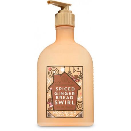 Питательное увлажняющее гель-мыло Bath and Body Works «Spiced Gingerbread Swirl»