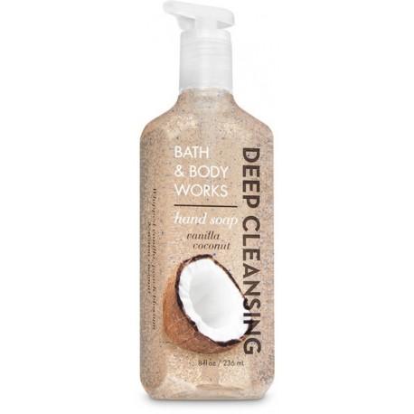 Глубоко очищающее жидкое мыло Bath and Body Works «Vanilla Coconut»