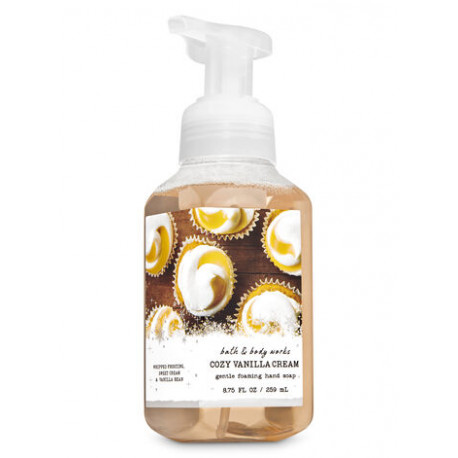 Жидкое мыло Bath and Body Works «Cozy Vanilla Cream»