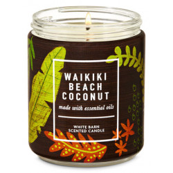 "Ароматическая свеча Bath and Body Works ""WAIKIKI BEACH COCONUT"""