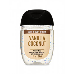 Санитайзер (антисептик для рук) Bath and Body Works «Vanilla Coconut»