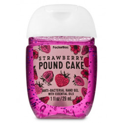 Санитайзер (антисептик для рук) Bath and Body Works «Strawberry Pound Cake»